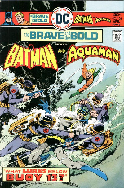 Cover for The Brave and the Bold (DC, 1955 series) #126