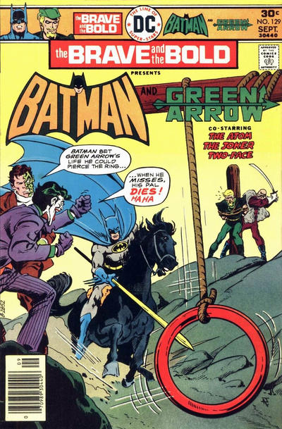 Cover for The Brave and the Bold (DC, 1955 series) #129