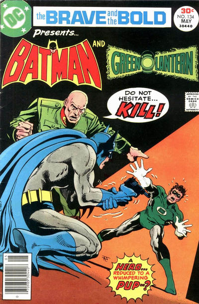 Cover for The Brave and the Bold (DC, 1955 series) #134