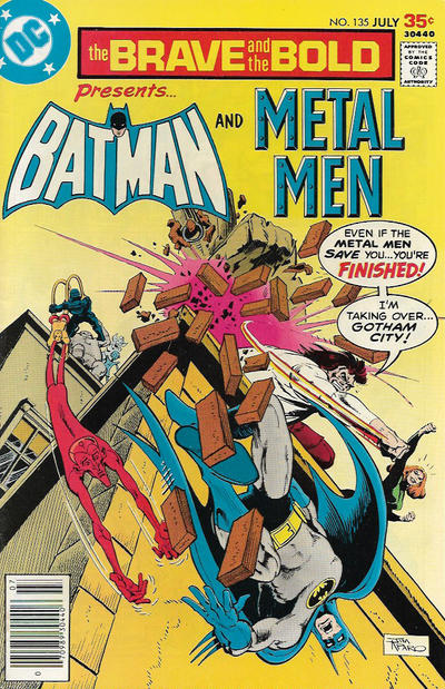 Cover for The Brave and the Bold (DC, 1955 series) #135