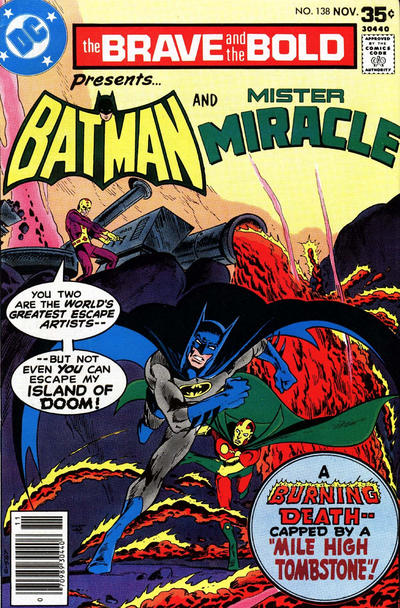 Cover for The Brave and the Bold (DC, 1955 series) #138