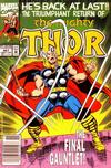 Cover Thumbnail for Thor (1966 series) #457 [Newsstand]