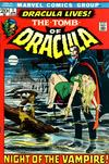 Cover for Tomb of Dracula (Marvel, 1972 series) #1