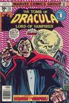 Cover Thumbnail for Tomb of Dracula (1972 series) #55 [Regular Edition]