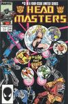 Cover for The Transformers: Headmasters (Marvel, 1987 series) #3 [Direct Edition]