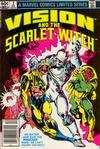 Cover Thumbnail for The Vision and the Scarlet Witch (1982 series) #2 [Newsstand Edition]