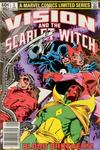 Cover Thumbnail for The Vision and the Scarlet Witch (1982 series) #3 [Newsstand Edition]