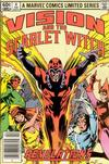 Cover Thumbnail for The Vision and the Scarlet Witch (1982 series) #4 [Newsstand Edition]