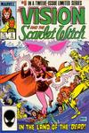 Cover Thumbnail for The Vision and the Scarlet Witch (1985 series) #5 [Direct Edition]