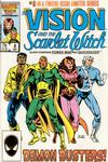 Cover Thumbnail for The Vision and the Scarlet Witch (1985 series) #8 [Direct Edition]
