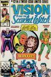 Cover Thumbnail for The Vision and the Scarlet Witch (1985 series) #12 [Direct Edition]