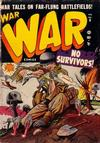 Cover for War Comics (Marvel, 1950 series) #8