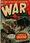 Cover for War Comics (Marvel, 1950 series) #9