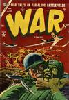 Cover for War Comics (Marvel, 1950 series) #23