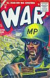 Cover for War Comics (Marvel, 1950 series) #40