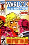Cover for Warlock and the Infinity Watch (Marvel, 1992 series) #3