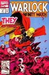 Cover for Warlock and the Infinity Watch (Marvel, 1992 series) #4