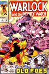 Cover for Warlock and the Infinity Watch (Marvel, 1992 series) #5 [Direct]