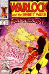Cover for Warlock and the Infinity Watch (Marvel, 1992 series) #6