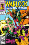 Cover for Warlock and the Infinity Watch (Marvel, 1992 series) #7 [Direct]