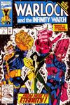 Cover for Warlock and the Infinity Watch (Marvel, 1992 series) #9 [Direct]