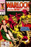 Cover for Warlock and the Infinity Watch (Marvel, 1992 series) #12 [Direct]