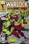 Cover for Warlock and the Infinity Watch (Marvel, 1992 series) #13 [Direct]