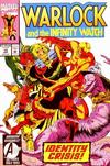 Cover for Warlock and the Infinity Watch (Marvel, 1992 series) #15 [Direct]