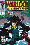 Cover for Warlock and the Infinity Watch (Marvel, 1992 series) #16 [Direct]