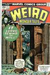 Cover for Weird Wonder Tales (Marvel, 1973 series) #4