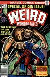 Cover for Weird Wonder Tales (Marvel, 1973 series) #19