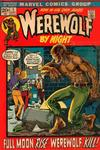 Cover for Werewolf by Night (Marvel, 1972 series) #1