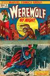Cover for Werewolf by Night (Marvel, 1972 series) #9