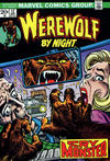 Cover for Werewolf by Night (Marvel, 1972 series) #12