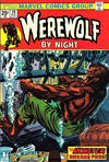 Cover for Werewolf by Night (Marvel, 1972 series) #20