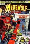 Cover for Werewolf by Night (Marvel, 1972 series) #21