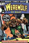 Cover for Werewolf by Night (Marvel, 1972 series) #25