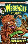 Cover for Werewolf by Night (Marvel, 1972 series) #27