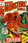 Cover for Where Monsters Dwell (Marvel, 1970 series) #5