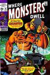 Cover for Where Monsters Dwell (Marvel, 1970 series) #10
