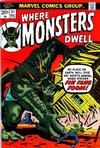 Cover for Where Monsters Dwell (Marvel, 1970 series) #21
