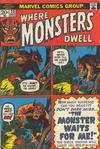 Cover for Where Monsters Dwell (Marvel, 1970 series) #23