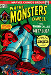 Cover for Where Monsters Dwell (Marvel, 1970 series) #26
