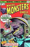 Cover for Where Monsters Dwell (Marvel, 1970 series) #35