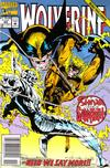 Cover for Wolverine (Marvel, 1988 series) #60 [Newsstand Edition]