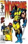 Cover for Wolverine (Marvel, 1988 series) #65 [Direct Edition]