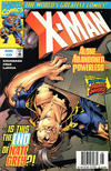 Cover for X-Man (Marvel, 1995 series) #29 [Newsstand Edition]