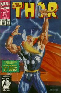 Cover Thumbnail for Thor (Marvel, 1966 series) #460 [Direct Edition]