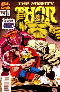 Cover Thumbnail for Thor (Marvel, 1966 series) #474