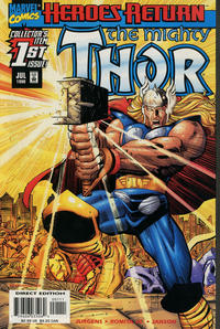 Cover Thumbnail for Thor (Marvel, 1998 series) #1 [Cover A]